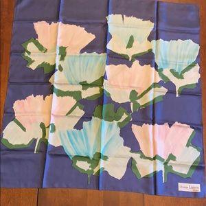 JEANNE LANVIN silk scarf